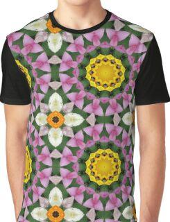 Flower Mandala, Blossoms  Graphic T-Shirt