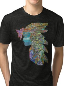 Spiritual Warrior Tri-blend T-Shirt