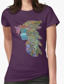 Spiritual Warrior Womens Fitted T-Shirt