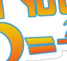 Your Density  Sticker