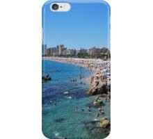 beach of Costa Brava iPhone Case/Skin