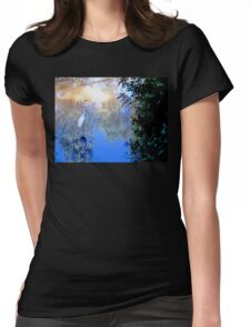 The water bird Womens Fitted T-Shirt