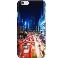 Night view over Bangkok city, Thailand iPhone Case/Skin