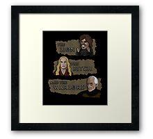 House Narnia Framed Print