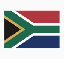 South African Springboks Flag Baby Tee