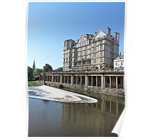 Empire Hotel Bath Poster