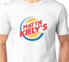 Mattie Kiely: King of the Burger Unisex T-Shirt