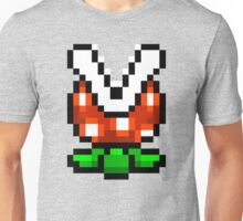 Piranha Plant pixel pattern Super Mario world Unisex T-Shirt