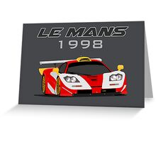 Le Mans Legend #40 - McLaren F1 GTR Greeting Card