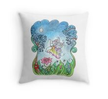 Some fairies have tails Throw Pillow