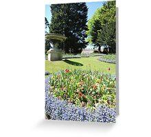 Royal Avenue Gardens, Bath Greeting Card