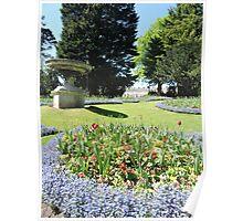 Royal Avenue Gardens, Bath Poster