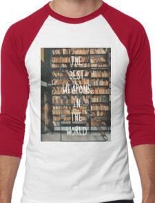 The best weapons in the world Men's Baseball ¾ T-Shirt