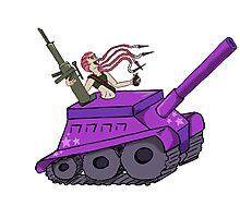 Centaur Tank Photographic Print