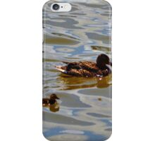 The Duck Family iPhone Case/Skin