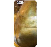 Reclining Buddha gold statue in Wat Pho buddhist temple, Bangkok, Thailand iPhone Case/Skin