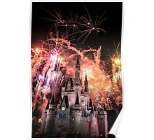 Magical Kingdom Explodes  Poster