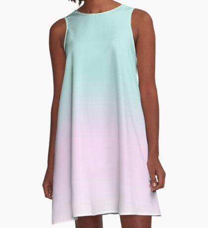 Peppermint Crisp A-Line Dress