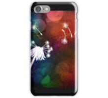 Dandelion in the air iPhone Case/Skin