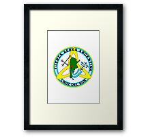 Southern Cross Aerobatic Squadron - Argentine Air Force Framed Print