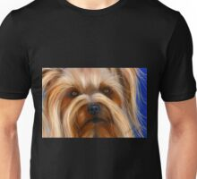 Sweet Silky Terrier - dog art by Michelle Wrighton Unisex T-Shirt