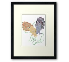 Lets Cuttle! Framed Print