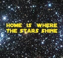Home is Never That Far Far Away Sticker