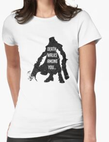 """Reaper's """"Stellar appearance"""" Womens Fitted T-Shirt"""