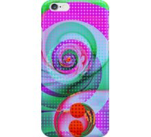 Colourful Swirls and Dots iPhone Case/Skin