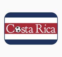 Costa Rica Football by piedaydesigns