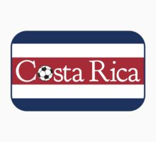 Costa Rica Football by piedaydesigns