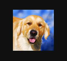 Samson - Golden Retriever dog art by Michelle Wrighton Unisex T-Shirt