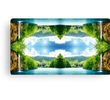 Nature Waterfall Canvas Print