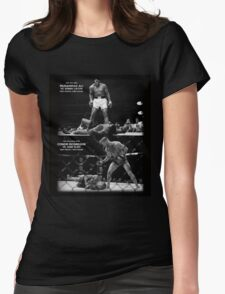 McGregor / Ali Womens Fitted T-Shirt