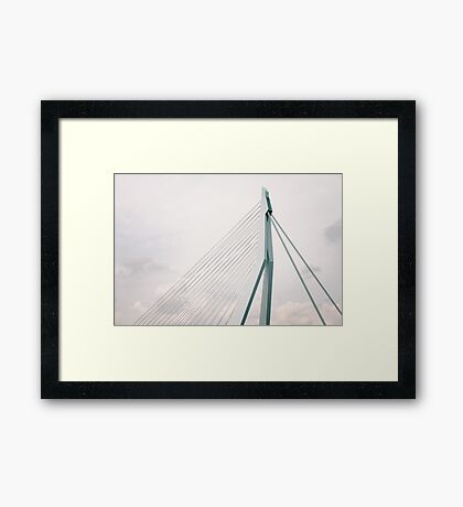 Erasmus Bridge Framed Print