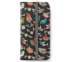 just birds dark iPhone Wallet/Case/Skin