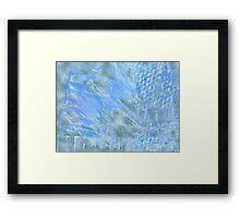 Shredded Sails Framed Print