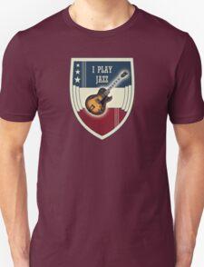 I play jazz Unisex T-Shirt