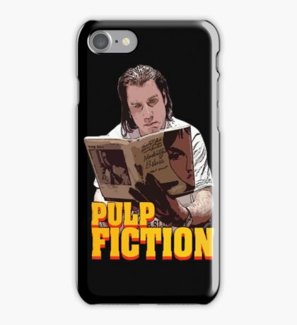 Vincent Vega iPhone Case/Skin