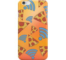 Pizza and Wifi - The Meaning of Life. iPhone Case/Skin