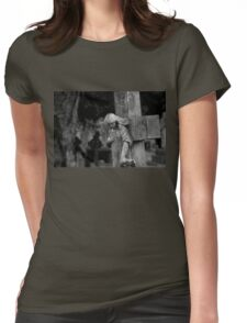 In A County Churchyard Womens Fitted T-Shirt