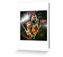 Notorious Conor McGregor Greeting Card