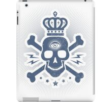 Skull with crown iPad Case/Skin