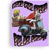 Need For Speed Polar Drift Canvas Print