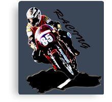 Racing Canvas Print
