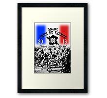 tour de france 4 Framed Print