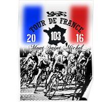 tour de france 4 Poster