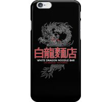 White Dragon Noodle Bar - ½ White Cut Cantonese Variant iPhone Case/Skin