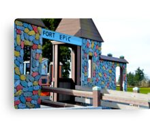 Fort Epic Canvas Print