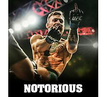 Notorious McGregor Photographic Print